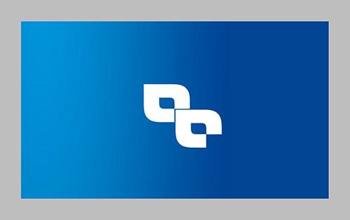 کارت ویزیت طرح آبی